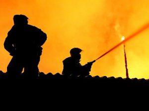 В Смоленской области дотла сгорел частный дом