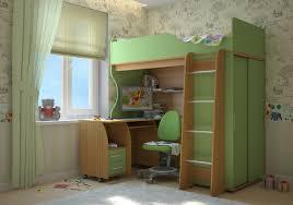 Особенности детских кроватей с чердаками