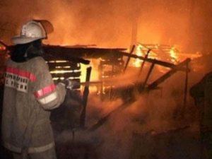 В Смоленской области пожар уничтожил 3 тонны сена и 20 кур