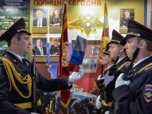 В Смоленске полицейские-новобранцы приняли присягу
