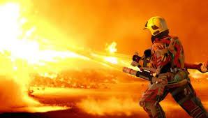 В Смоленской области дотла выгорел вагончик-бытовка