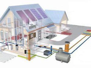 Современные коттеджи. Монтаж систем отопления и водоснабжения