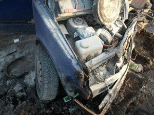 В Смоленской области водителя «Оки» госпитализировали после ДТП