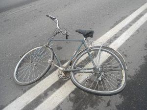 В Рославле в ДТП пострадала 66-летняя велосипедистка