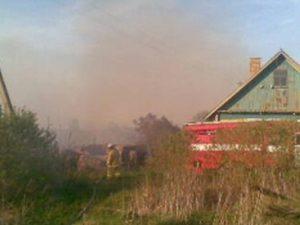 В Смоленской области сгорел гектар сена