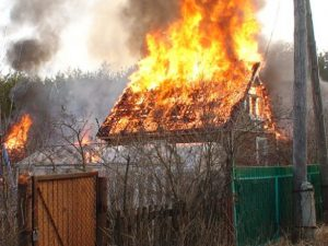 В Смоленском районе в пожаре, вспыхнувшем на даче, погиб 32-летний мужчина