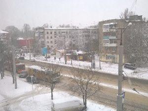В Смоленске из-за обрыва проводов встали троллейбусы
