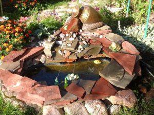 О возведении фонтанов на участке