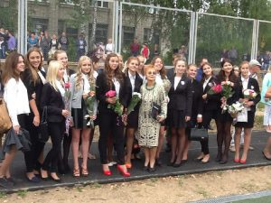 Школе №4 Смоленска исполнилось 65 лет