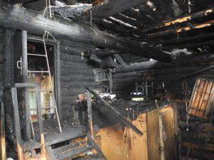 91-летняя смолянка погибла при пожаре
