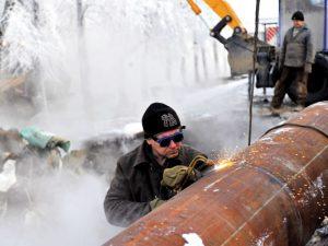 Центр Смоленска из-за аварии остался без отопления и горячей воды