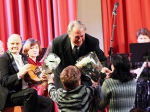 В Смоленске отметили юбилей композитора и певца Николая Писаренко