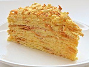 Рецепт торта «Наполеон классический» советского времени