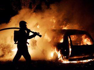 В Смоленске пожар на Рославльском шоссе унёс жизни двух мужчин