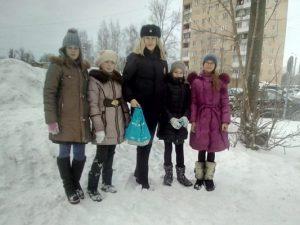 В Смоленске госавтоинспекторы провели акцию «Осторожно, опасная горка»