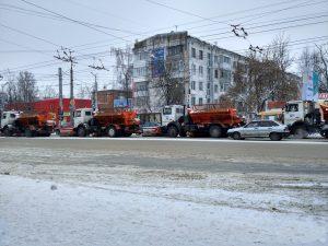 7173 куба снега вывезено из Смоленска за последнюю неделю