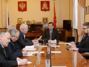 Губернатор провел рабочую встречу с руководством смоленского КПРФ