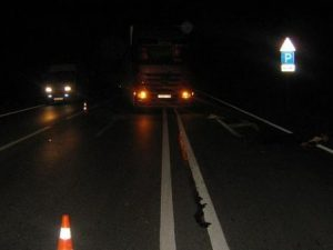 Иностранец на фуре сбил смолянина на трассе М1