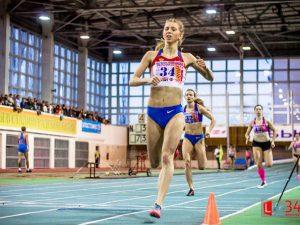 Студентка смоленского училища олимпийского резерва завоевала «серебро» на молодежном первенстве России по легкой атлетике