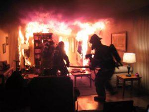На Киселевке при пожаре погиб мужчина