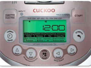 Современное и более практичное решение для любой кухни, мультиварка с большим количеством функций – от компании «Cuckoo Electronics Co.Ltd.»