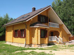 Гидроизоляция деревянных построек