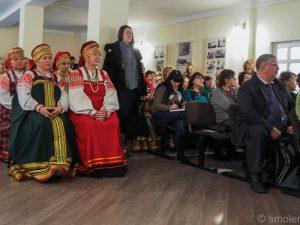 В Новоспасском прошло мероприятие «Приношение М.И. Глинке. Встреча накануне дня памяти»