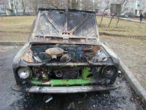 В Смоленской области едва не сгорел владелец «копейки»