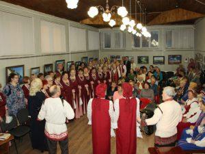 В Центре культуры прошло мероприятие, посвященное творчеству Исаковского