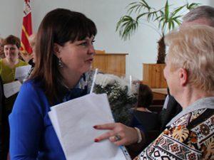 Депутаты избрали Инну Демидову главой Вяземского района