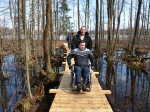 В Смоленском поозерье создали маршрут для инвалидов