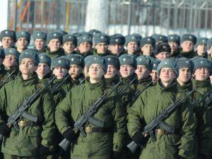 Порядка тысячи смолян пополнят этой весной ряды Вооруженных Сил России