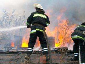 В Монастырщине сгорел частный дом