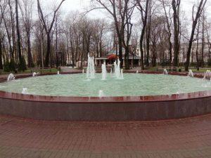 Фонтан в парке Блонье требует комплексного ремонта