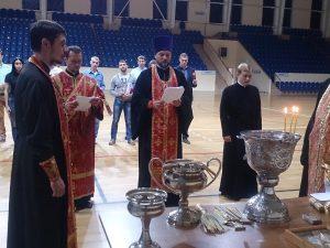 В Смоленске освятили дворец спорта «Юбилейный»