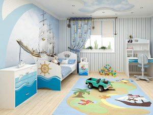 Обустройство комнаты для мальчика. Сказочный мир дома