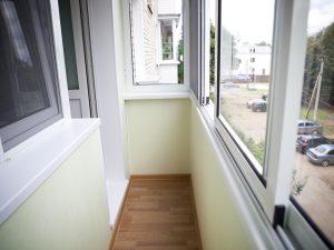 Материалы для отделки балкона или лоджии