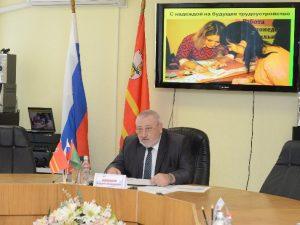 Владимир Соваренко встретился с представителями велосообщества Смоленска