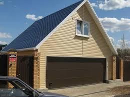Возведение двухэтажного гаража