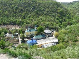 Загадочный монастырь Сахарна