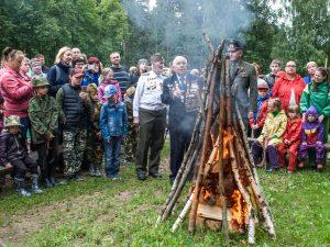 В поселке Пржевальское партизаны снова дали отпор фашистам