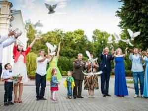 Смоленские супруги отпраздновали годовщины свадеб