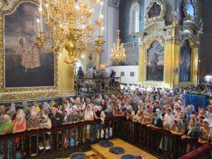 Смоленск отмечает праздник иконы Смоленской Божией Матери Одигитрии