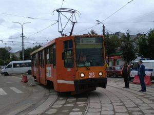 Трамваи снова пошли в Заднепровье в Смоленске