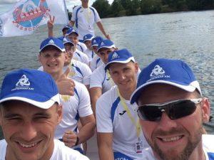 Команда Смоленской АЭС стала призером Чемпионата Европы по гребле на лодках «дракон»