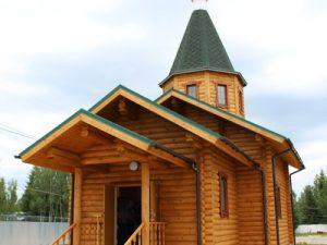В Смоленской области в колонии-поселении освятили православный храм