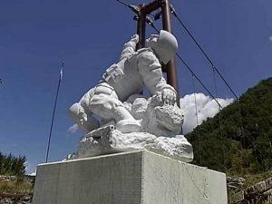 Выпускнику Смоленской военной академии поставили памятник в Италии