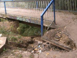 «Чёртов мост» в Смоленске типа отремонтировали