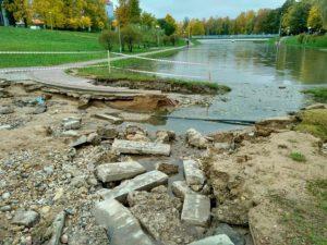 У мэрии Смоленска «руки не доходят» до разрушенного парка 1100-летия