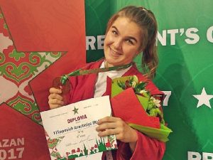 Смоленская самбистка стала третьей на турнире в Казани